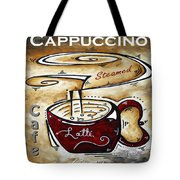Latte Original Painting Madart Tote Bag