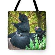 Laughing Bears Tote Bag