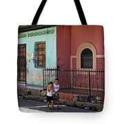 Laughing Boys Tote Bag