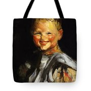 Laughing Child 1907 Tote Bag
