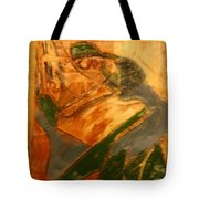 Laughter - Tile Tote Bag