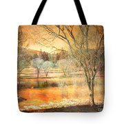 Laughter Amongst Trees Tote Bag
