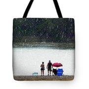 #171 Laughter In The Rain Tote Bag