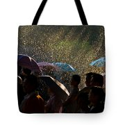 Laughter In The Rain Tote Bag