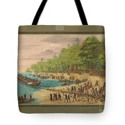 Launching Of The Griffin.  July 1679 Tote Bag