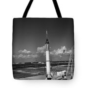 Launching Of The Mercury-redstone 3 Tote Bag