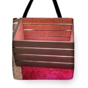 Laundry Crate Tote Bag