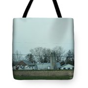 Laundry Day At The Dairy Farm Tote Bag
