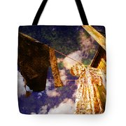 Laundry Day In China Town Tote Bag
