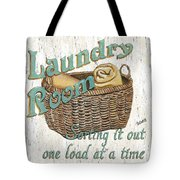 Laundry Room Sorting It Out Tote Bag