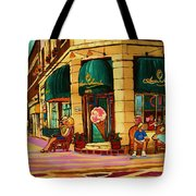 Laura Secord Candy And Cone Shop Tote Bag