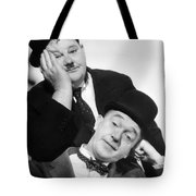 Laurel And Hardy, 1939 Tote Bag