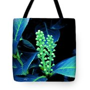 Laurel Flower Buds Tote Bag