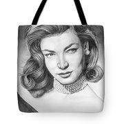 Lauren Bacall Tote Bag