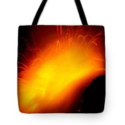 Lava And Steam Tote Bag by Peter French - Printscapes