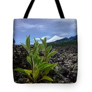 Lava And Villa Rica Volcano Tote Bag