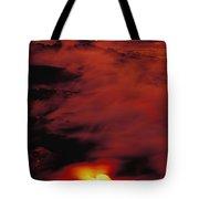 Lava At Dawn Tote Bag