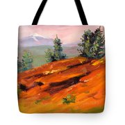 Lava Butte Tote Bag