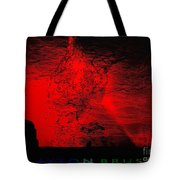 Lava Fountain Tote Bag