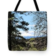 Lava Mountain Tote Bag