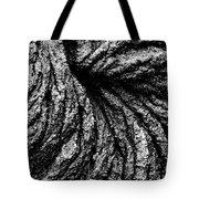 Lava Patterns - Bw Tote Bag