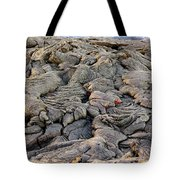 Lava Peeking At Us Tote Bag