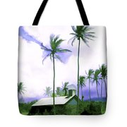 Lava Rock Church Tote Bag