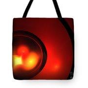 Lava Sphere Tote Bag