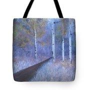 Lavendar Birch  Tote Bag