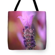 Lavendar Flower Tote Bag