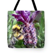 Lavender And Busy Bee. Tote Bag