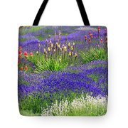 Lavender And Flowers Oh My Tote Bag