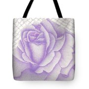 Lavender And Lace Tote Bag