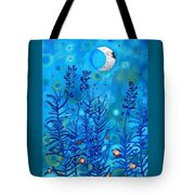 Lavender And Moon Tote Bag