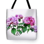 Lavender And Rose Hydrangeas Tote Bag