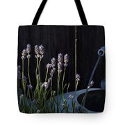 Lavender And Watering Can Tote Bag