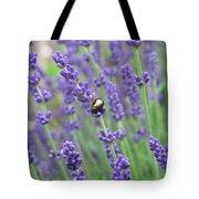 Lavender Beetle Tote Bag