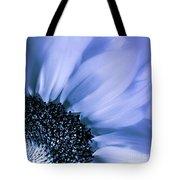 Lavender Blue Silk Tote Bag