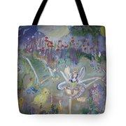 Lavender Fairies Tote Bag