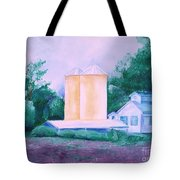 Lavender Farm Albuquerque Tote Bag
