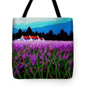 Lavender Field - County Wicklow - Ireland Tote Bag