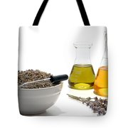Lavender Flower Aromatherapy Scent Manufacturing Process Tote Bag