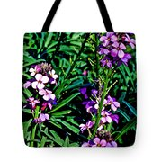 Verbena At Pilgrim Place In Claremont-california   Tote Bag