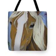 Lavender Horse Tote Bag