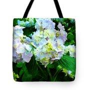 Lavender Hydrangea In Garden Tote Bag