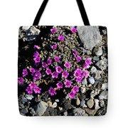 Lavender In The Rocks Tote Bag