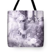 Lavender Ladies Tote Bag