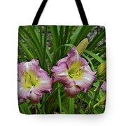 Lavender Lily Triad Tote Bag
