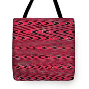Lavender Metal Panel Abstract Tote Bag