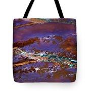 Lavender N Lace Tote Bag